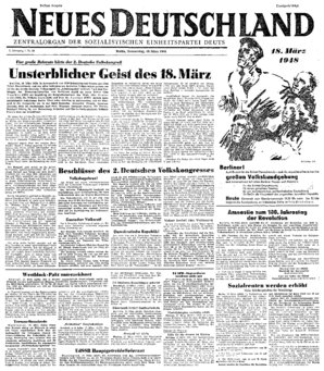 Nd Archiv Neues Deutschland Vom 18 03 1948