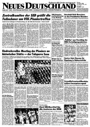 43 ZK 42 44 45 41 DDR Neues Deutschland April 1979 Geburtstag Hochzeit 40