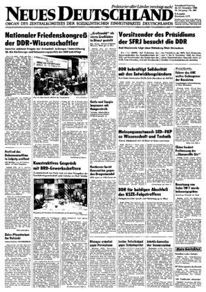 32 DDR Neues Deutschland September 1987 Geburtstag Hochzeit 31 34 ZK 35 33